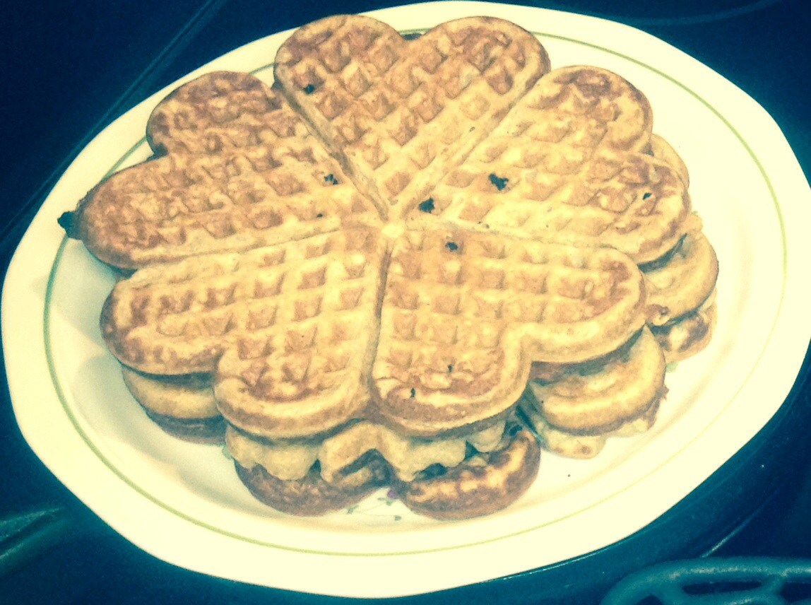 how to make waffles for one person